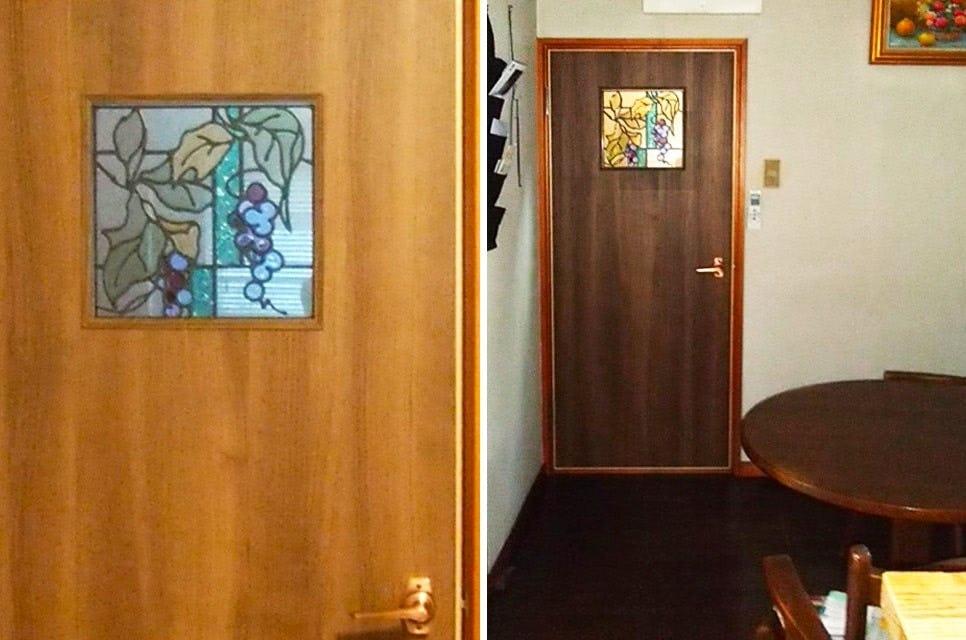 「スクウェアOG357」が設置された室内ドア