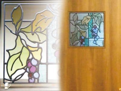 木製ドアをくり抜いて施工!ドア窓に「スクウェア」を使用した事例(大阪府枚方市 Y様)