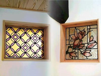 木枠にマッチ!明かり取り窓に「エチュード」「スクウェア」を使用した事例(岐阜県下呂市 K様)