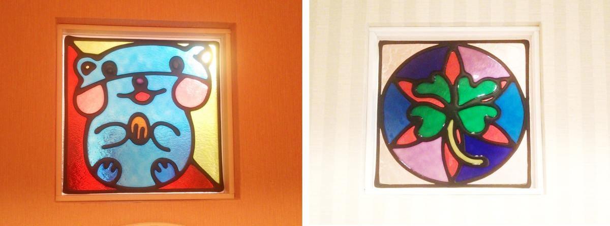 「フルオーダーステンド」が設置された室内窓の様子(1)