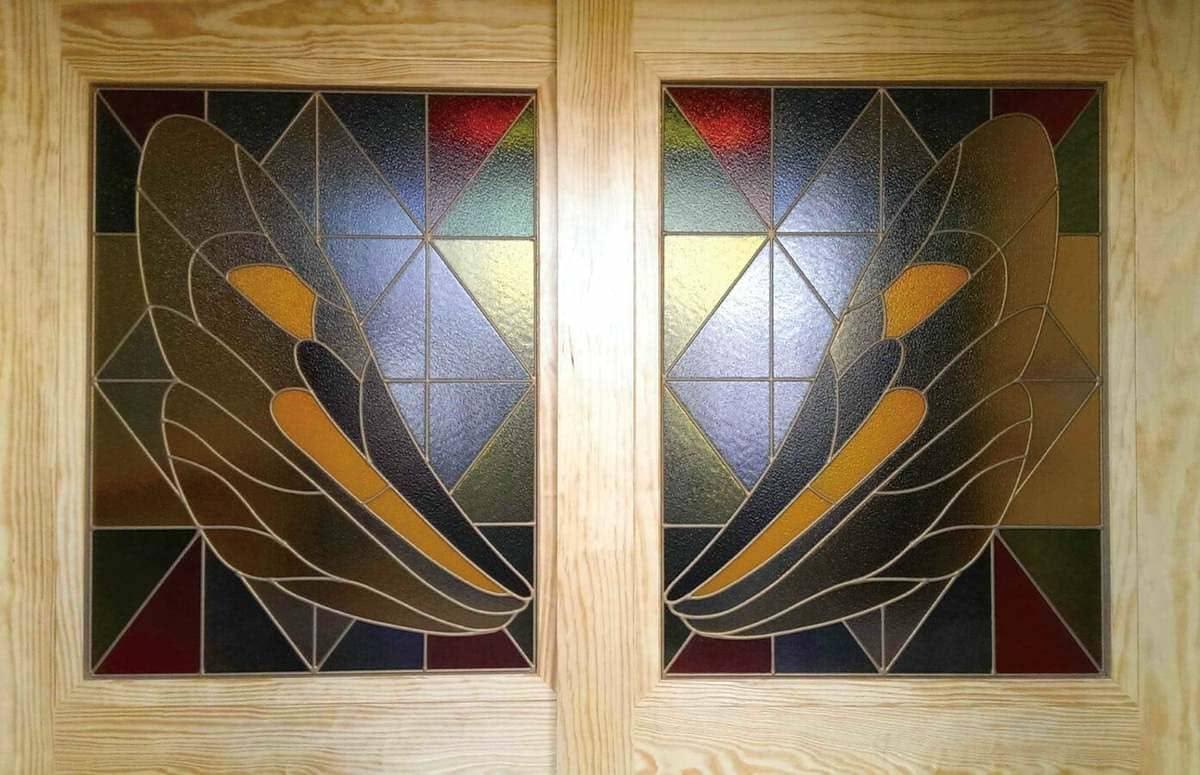 「フルオーダーステンド」が設置された保育園の室内引き戸の様子(2)