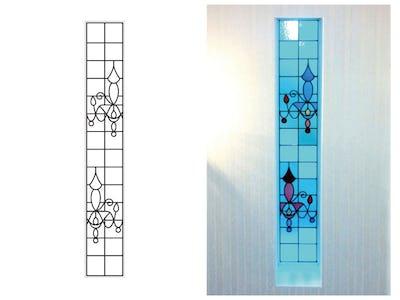 シャンデリアをモチーフにした窓に!「フルオーダーステンド」を使用した事例(大阪府泉南市 M様)