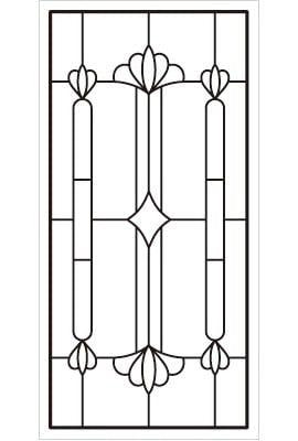 「ラインアート OG635」図柄イメージ