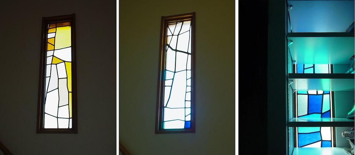 「ブリリアントモーメント K03」が設置された外窓の様子(2)