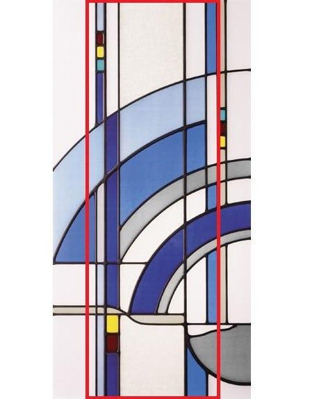 ステンドグラスの「部分取り」イメージ画像