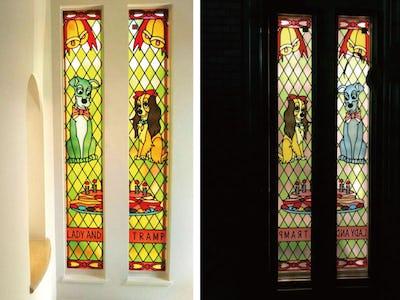 新築の窓にフルオーダーステンドを使用した事例(大阪府Y社様)