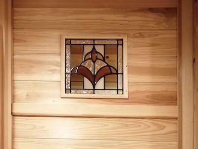 新居の浴室に!明り取り窓に「スクウェア OG305」を使用した事例(鹿児島県T様)