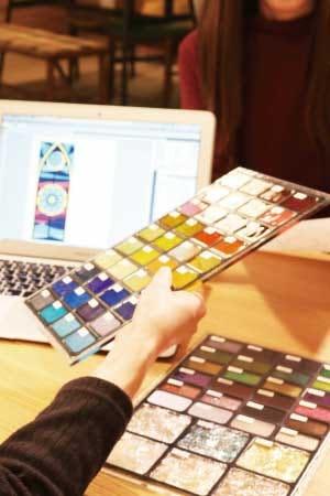 クリエイターとコラボした新商品の開発