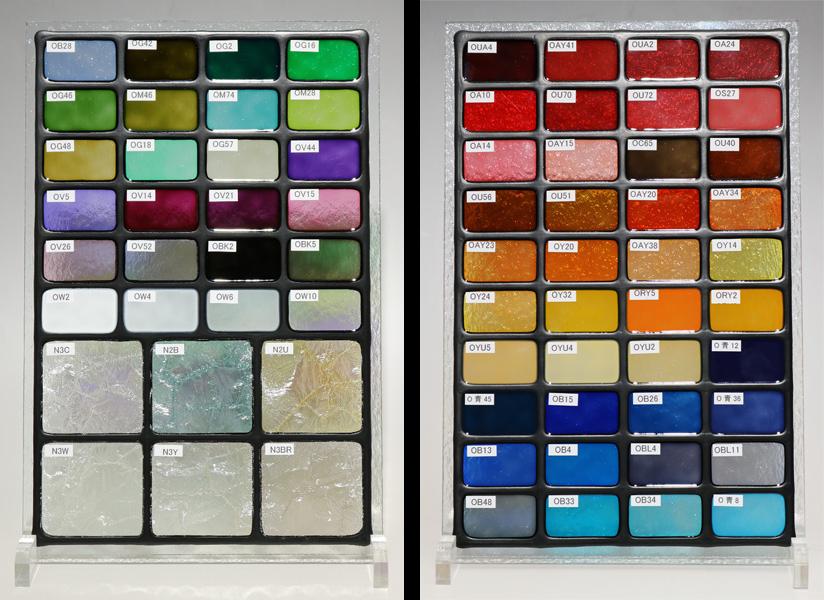 ステンドグラス-色サンプル